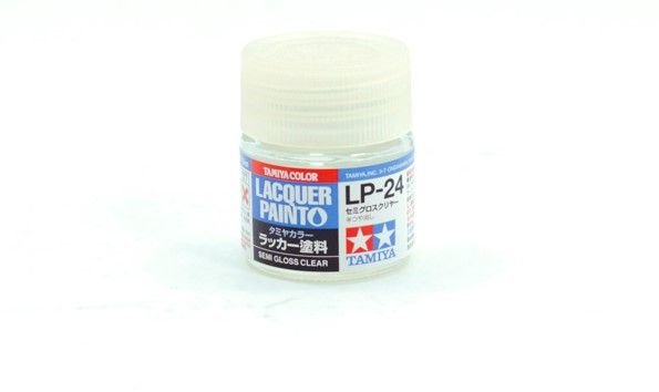 TAMIYA  82124 LP-24 SEMI GLOSS CLEAR LACQUER PAINT  UK SALE ONLY