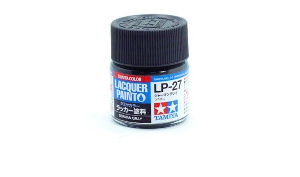 TAMIYA  82127 LP-27 GERMAN GREY LACQUER PAINT  UK SALE ONLY