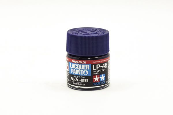 TAMIYA  82145 LP-45 RACING BLUE LACQUER PAINT  UK SALE ONLY