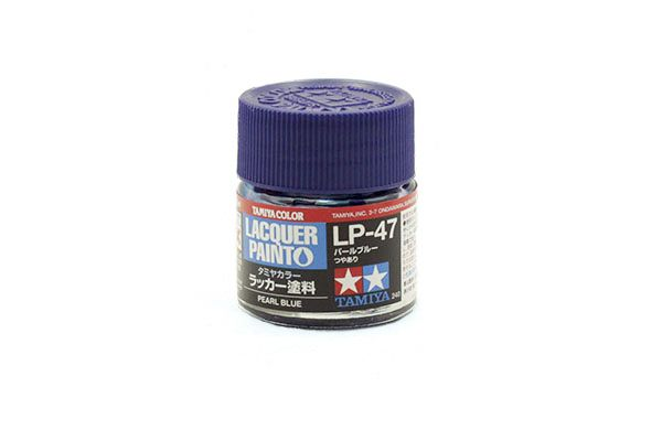 TAMIYA  82147 LP-47 PEARL BLUE LACQUER PAINT  UK SALE ONLY