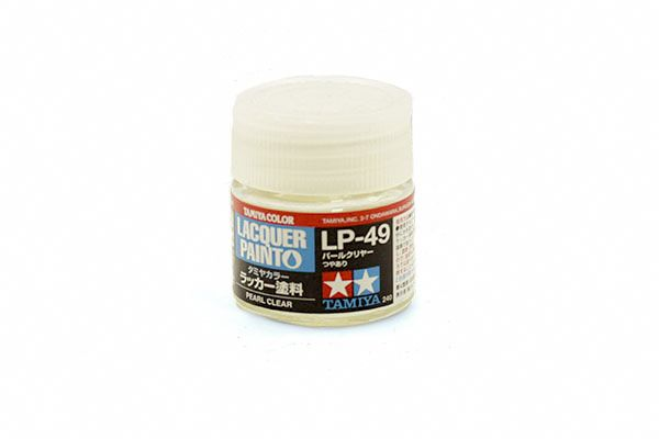 TAMIYA  82149 LP-49 PEARL CLEAR LACQUER PAINT  UK SALE ONLY