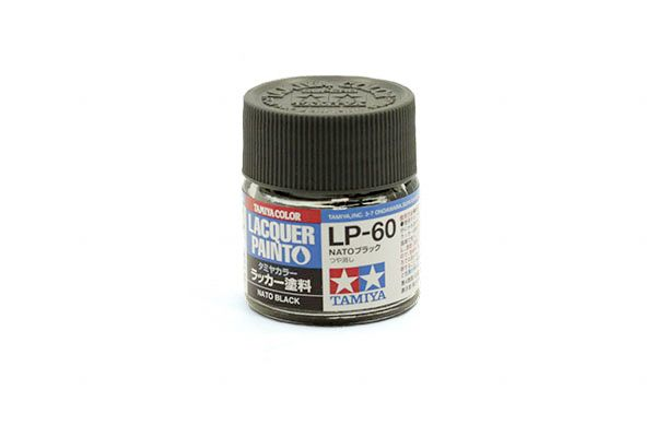 TAMIYA  82160 LP-60 NATO BLACK LACQUER PAINT  UK SALE ONLY