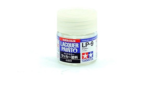 TAMIYA  82109 LP-9 CLEAR LACQUER PAINT  UK SALE ONLY