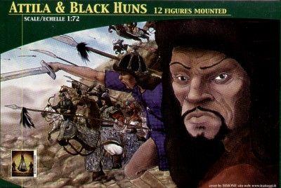 LUCKY TOYS 1/72 7201 ATTILA AND BLACK HUNS