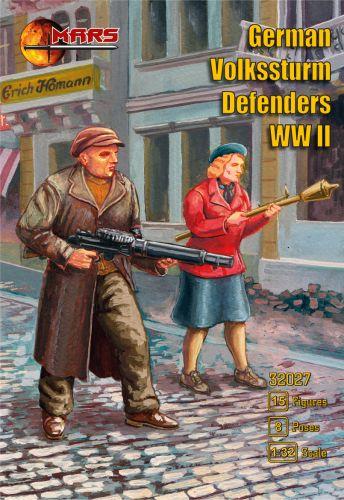 MARS 1/32 32027 GERMAN VOLKSSTURM DEFENDERS WWII