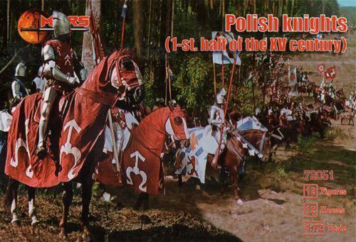 MARS 1/72 72051 POLISH KNIGHTS XV CENTURY