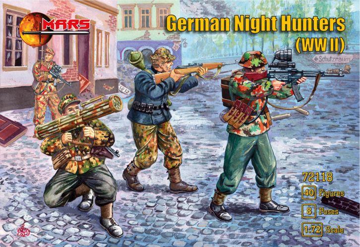 MARS 1/72 72118 GERMAN NIGHT HUNTERS  WW II