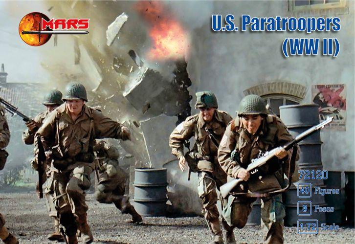 MARS 1/72 72120 U.S. PARATROOPERS WWII
