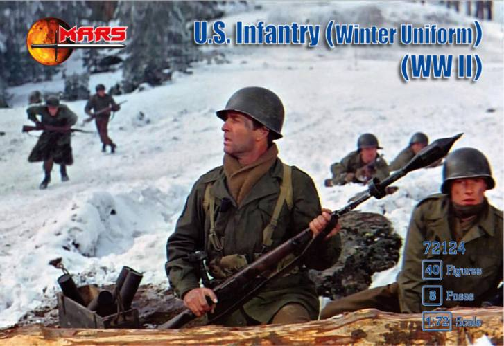 MARS 1/72 72124 WWII U.S. Infantry  Winter Uniform