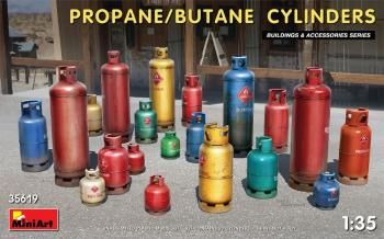 MINIART 1/35 35619 PROPANE/BUTANE CYLINDERS