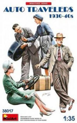 MINIART 1/35 38017 AUTO TRAVELERS 1930-1940s