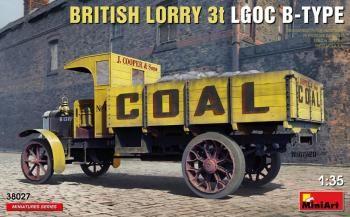 MINIART 1/35 38027 BRITISH LORRY 3T LGOC B-TYPE