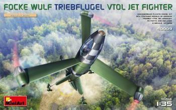 MINIART 1/35 40009 FOCKE WULF TRIEBFLUGEL VTOL JET FIGHTER
