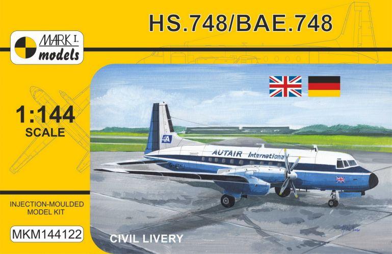 MARK I MODELS 1/144 144122 HS.748/ BAE.748