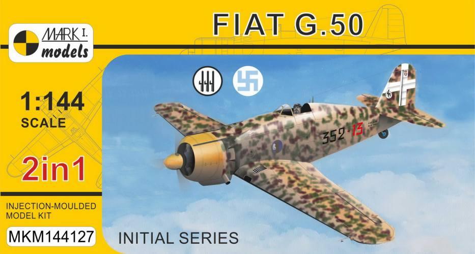 MARK I MODELS 1/144 144127 FIAT G.50 INITIAL SERIES