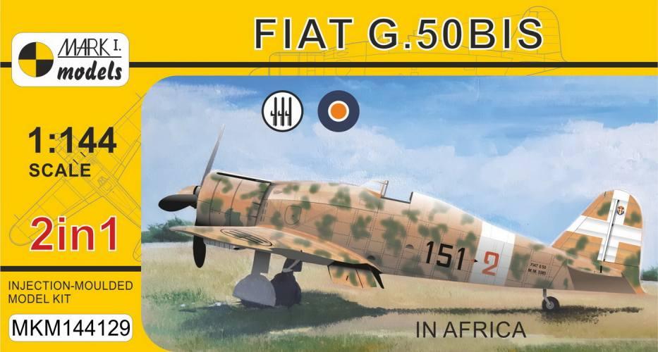 MARK I MODELS 1/144 144129 FIAT G.50 BIS IN AFRICA