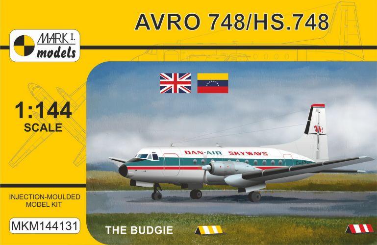 MARK I MODELS 1/144 144131 HS.748/BAE.748