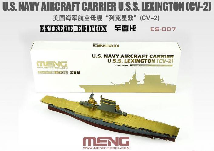 MENG 1/700 ES-007 U.S.S. LEXINGTON  CV-2  U.S. NAVY EXTREME EDITION