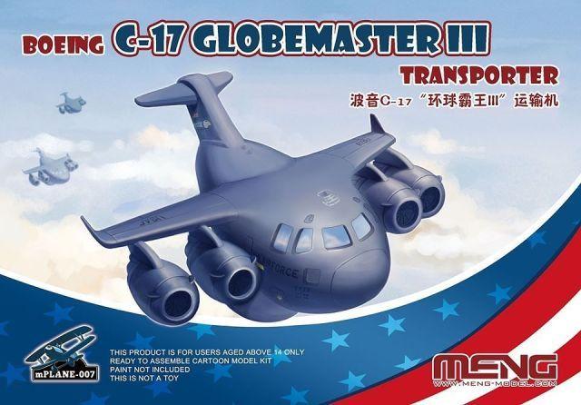 MENG  007 BOEING C-17 GLOBEMASTER III TRANSPORTER