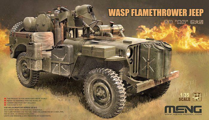 MENG 1/35 VS-012 WASP FLAMETHROWER