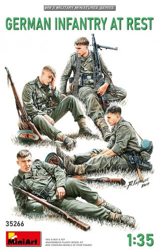 MINIART 1/35 35266 GERMAN INFANTRY AT REST