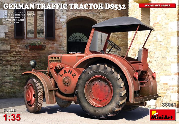 MINIART 1/35 38041 GERMAN TRAFFIC TRACTOR D8532