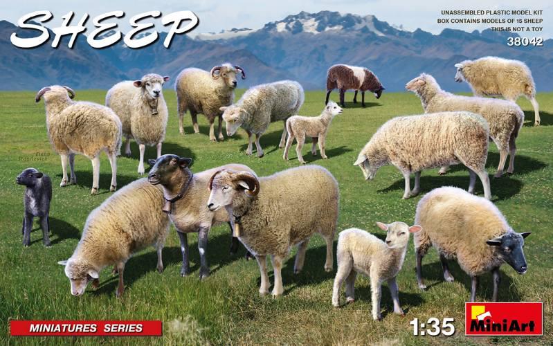 MINIART 1/35 38042 SHEEP