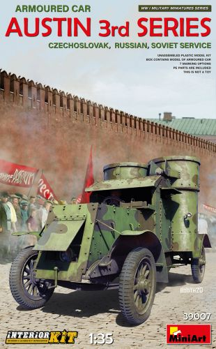 MINIART 1/35 39007 AUSTIN 3RD SERIES ARMOURED CAR