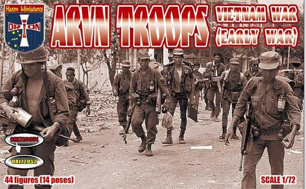 ORION 1/72 72051 ARVN TROOPS EARLY VIETNAM WAR