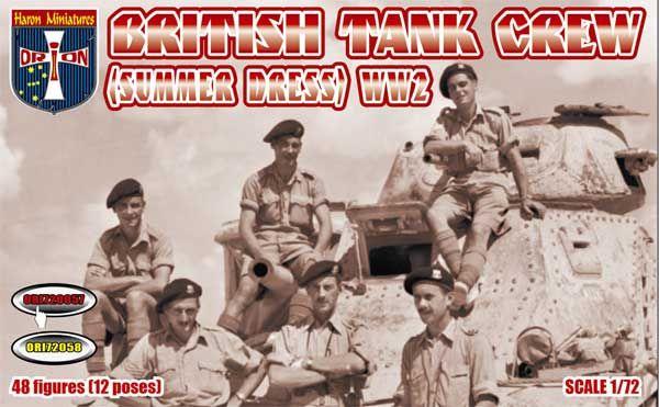 ORION 1/72 72057 WWII BRITISH TANK CREW SUMMER DRESS