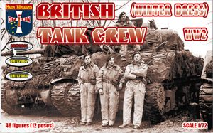 ORION 1/72 72061 BRITISH TANK CREW  WINTER DRESS  WWII