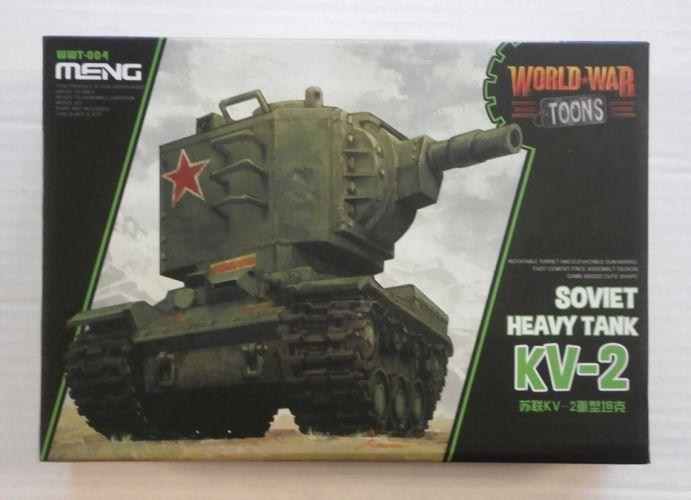 MENG  WWT-004 SOVIET HEAVY TANK KV-2