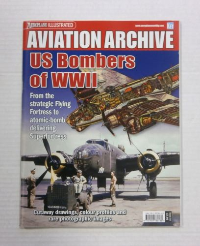 CHEAP BOOKS  ZB1190 AVIATION ARCHIVE - US BOMBERS OF WWII