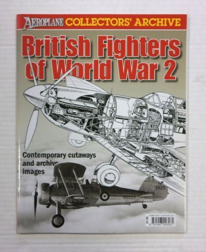 CHEAP BOOKS  ZB1188 COLLECTORS ARCHIVE - BRITISH FIGHTERS OF WORLD WAR 2