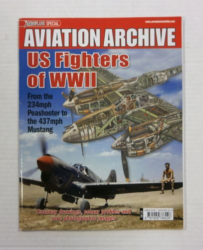 CHEAP BOOKS  ZB1183 AVIATION ARCHIVE - US FIGHTERS OF WWII