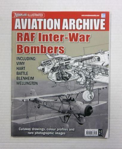 CHEAP BOOKS  ZB1182 AVIATION ARCHIVE - RAF INTER-WAR BOMBERS