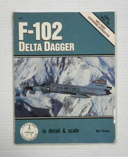 CHEAP BOOKS  ZB1218 F-102 DELTA DAGGER - BERT KINZEY