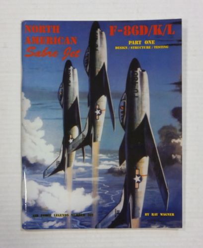 CHEAP BOOKS  ZB1208 NORTH AMERICAN SABRE JET - F-86D/K/L PART ONE DESIGN/STRUCTURE/TESTING