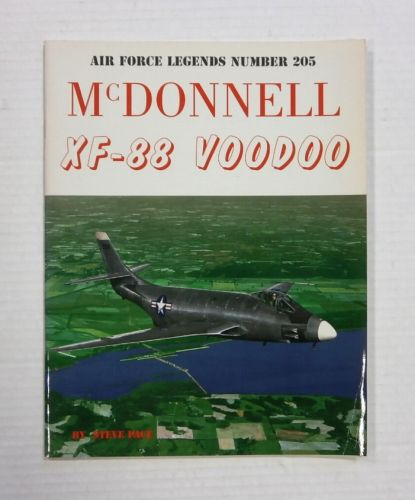 CHEAP BOOKS  ZB1207 AIR FORCE LEGENDS NUMBER 205 - MCDONNELL XF-88 VODOO