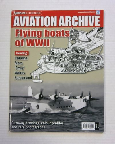 CHEAP BOOKS  ZB1192 AVIATION ARCHIVE - FLYING BOATS OF WWII