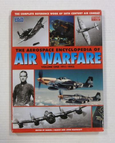 CHEAP BOOKS  ZB1202 THE AEROSPACE ENCYCLOPEDIA OF AIR WARFARE VOLUME ONE 1911-1945