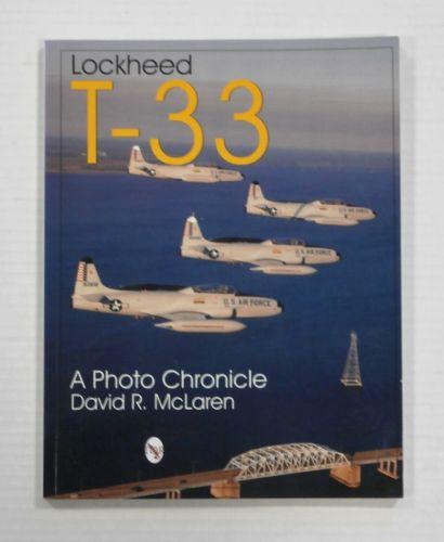 CHEAP BOOKS  ZB1250 LOCKHEED T-33 - DAVID R. McLAREN