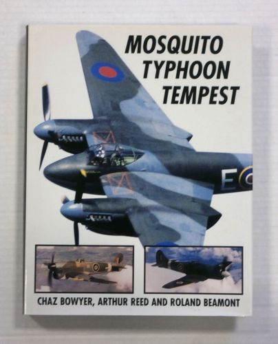 CHEAP BOOKS  ZB1238 MOSQUITO TYPHOON TEMPEST - CHAZ BOWYER