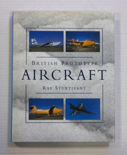 CHEAP BOOKS  ZB1246 BRITISH PROTOTYPE AIRCRAFT - RAY STURTIVANT
