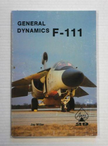 CHEAP BOOKS  ZB1259 GENERAL DYNAMICS F-111 - JAY MILLER