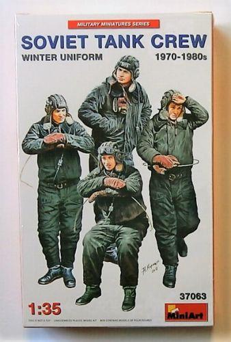 MINIART 1/35 37063 SOVIET TANK CREW