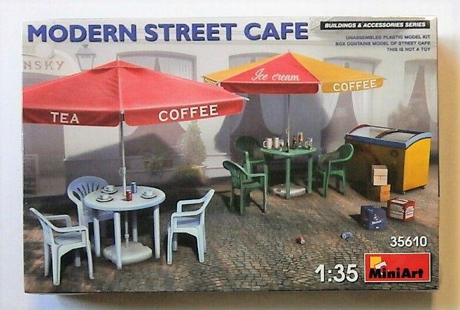 MINIART 1/35 35610 MODERN STREET CAFE