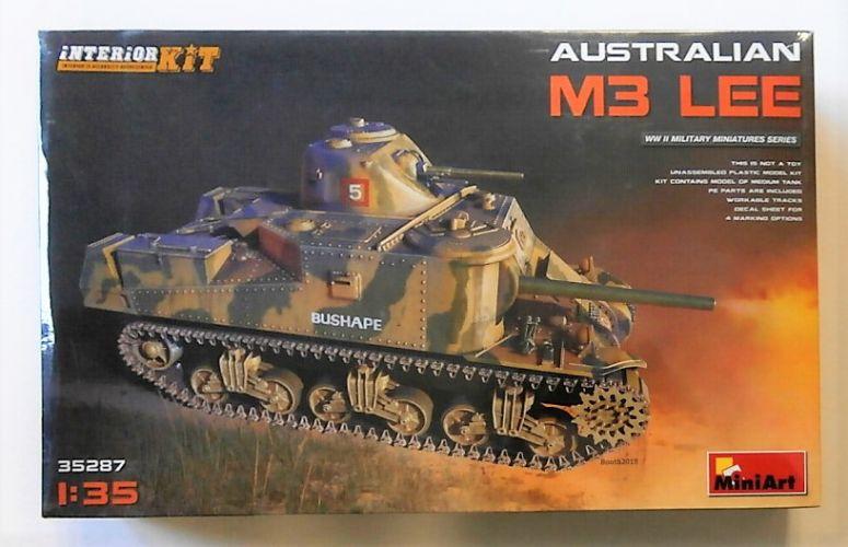 MINIART 1/35 35287 M3 LEE AUSTRALIAN