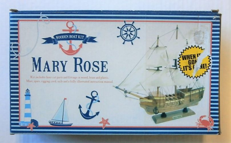 WOODEN BOAT KIT  MARY ROSE