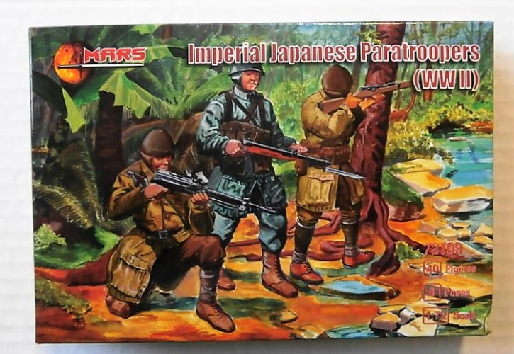 MARS 1/72 72109 IMPERIAL JAPANESE PARATROOPERS